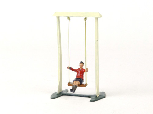 Britains 619 Garden Swing With Boy Model Home Farm Series