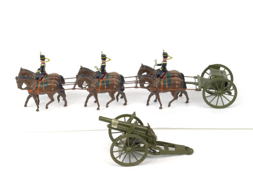 WBritians Historical Toy Soldiers 2077 King's Royal Horse Artillery