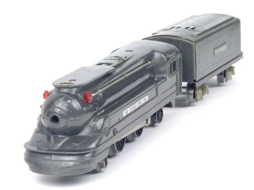 Lionel Trains 1688 Gunmetal Steam Locomotive and Tender Lionel Lines