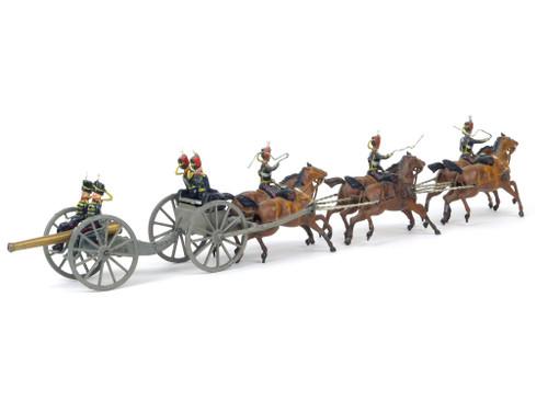 Britains Rare Set 39 Royal Horse Artillery Early Version