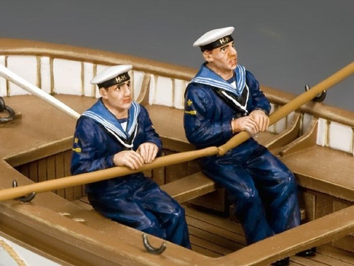 King & Country Toy Soldiers GA015 Oarsmen Rowing