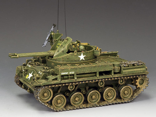 King & Country Soldiers VN033 Vietnam The M42 Duster Tank