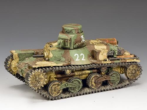 King & Country JN041 Japanese Navy Type 95 Ha-Go Light Tank (2nd Version)