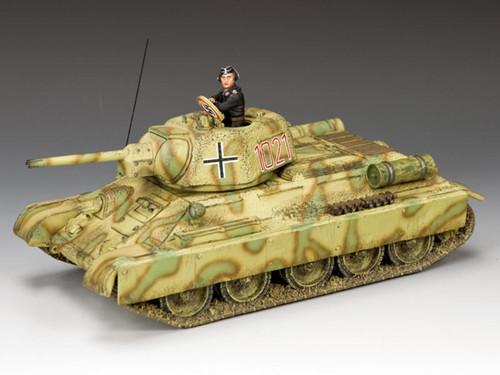 King & Country Soldiers WS332 World War II Waffen SS Soviet Panzer