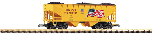 Piko G Scale Trains 38919 Union Pacific Flag Hopper Car with Coal Load
