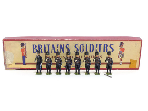 WBritains 2009 Belgian Grenadiers Review Order Greatcoats Marching At The Slope