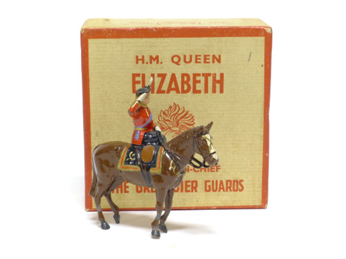 WBritains 2065 Her Majesty Queen Elizabeth Colonel-in-Chief Of The Grenadier Guards