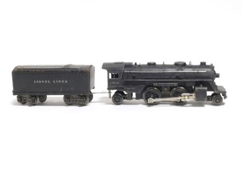 Lionel Trains 1684 Lionel Lines 2-4-2 Steam Locomotive Engine With Tender