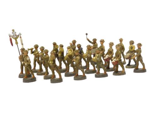 Elastolin Historical Collection World War I Bandsmen 6 CM Composition Figures
