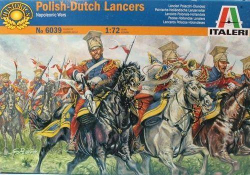 Italeri 6039 Dutch-Polish Lancers Red Lancers 1/72 Scale Plastic Model Kit