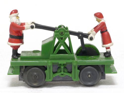 Lionel Trains 6-18403 Operating Santa Hand Car O Gauge