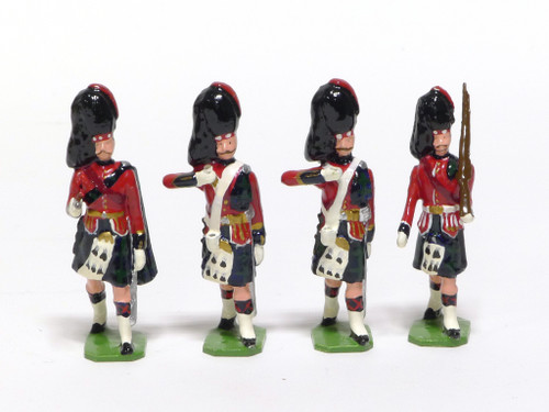 Ducal Traditional Military Figures Black Watch Color Party Set 178