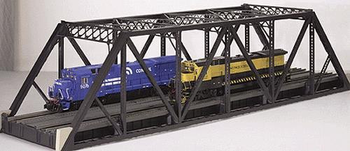 Atlas Trains 7921 O Scale Double Pratt Truss Bridge 2 Rail Model