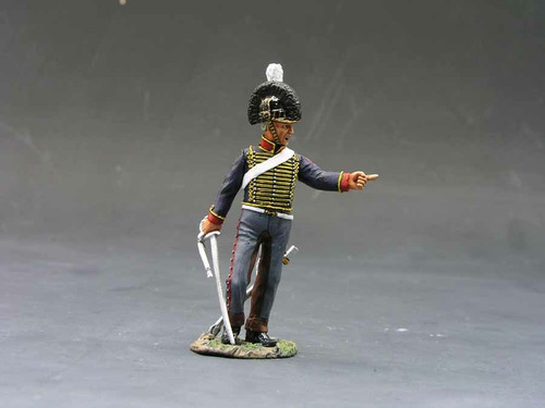 King & Country Soldiers NA099 Age Of Napoleon Gunner Corporal With Sword