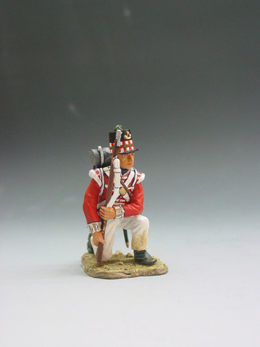 King & Country Soldiers NA006 Age Of Napoleon British Kneeling Ready