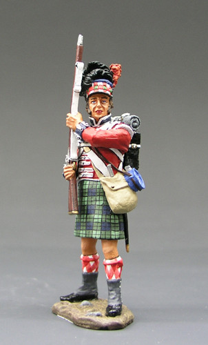 King & Country Soldiers NA049 Age Of Napoleon Standing Ready