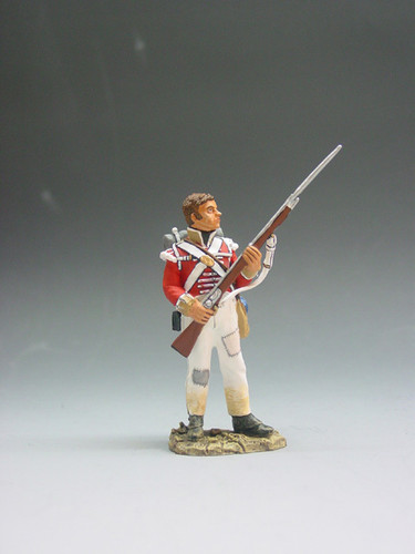 King & Country Soldiers NA011 Age Of Napoleon British Standing Ready (No Hat)