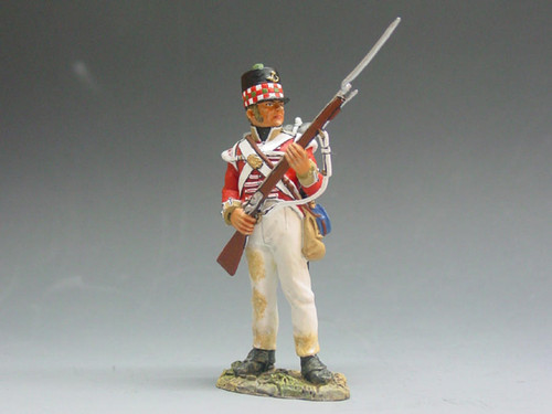 King & Country Soldiers NA001 Age Of Napoleon British Standing Ready