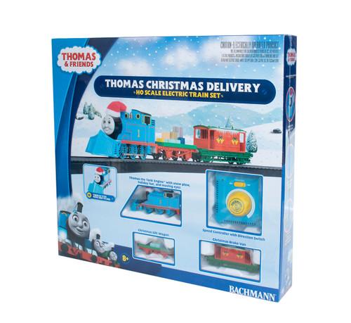 Bachmann Thomas & Friends Thomas Christmas Delivery HO Scale Electric Train Set