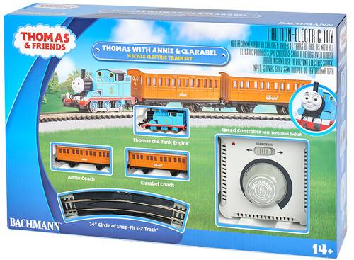 Bachmann Thomas & Friends Thomas w/ Annie & Clarabel N Scale Electric Train Set