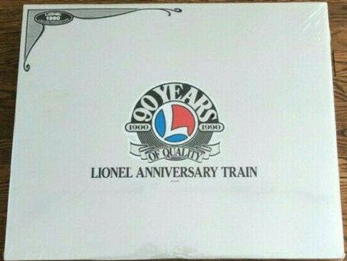 Lionel 6-11715 90th Anniversary Train Set O Gauge 1990 Limited Production