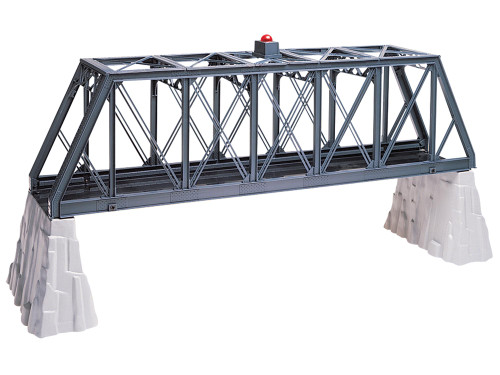 Lionel 6-12772 Truss Bridge With Flasher And Piers O Gauge