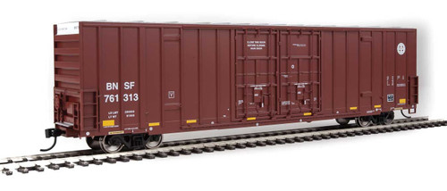 Walthers Mainline 910-2985 BNSF HO Scale Ready To Run 60' High Cube Box Car