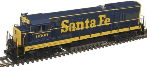 Atlas Trains 10003416 HO Scale ATSF GE U23B Silver Series Diesel Engine Standard DC