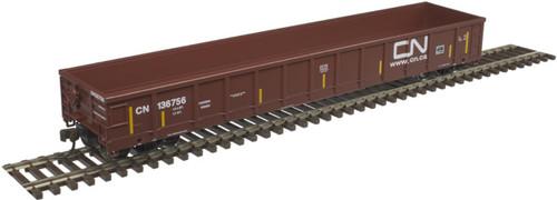 Atlas Trains 20005439 Canadian National HO Scale Evans 52' Gondola #136756