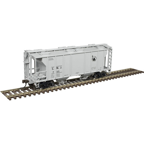 Atlas Trains 20005059 Jersey Central HO Scale PS-2 Covered Hopper #830