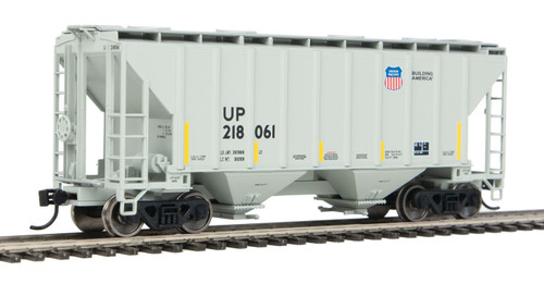 Walthers Mainline 910-7968 Union Pacific HO Scale Ready To Run Covered Hopper