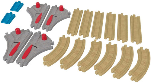Fisher Price Thomas & Friends Wood Turnout Track Pack FKF55