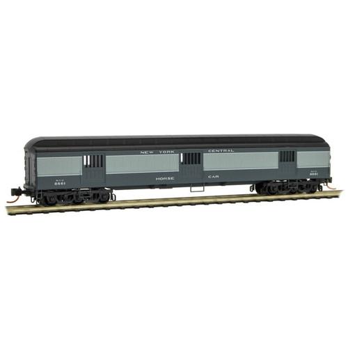 Micro-trains N Scale 14900130 New York Central 70' Heavyweight Horse Car