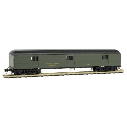 Micro-trains N Scale 14900150 Canadian National 70' Heavyweight Horse Car