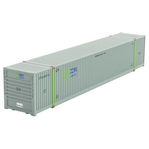 Micro-trains N Scale 46900542 COFC 53' Corrugated Container Road No 914514
