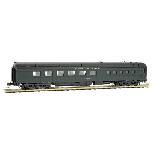 Micro-trains N Scale 14600100 New Haven 80' Heavyweight Diner Car