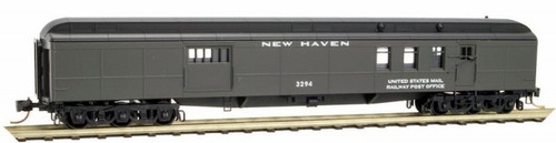 Micro-trains N Scale 14800100 New Haven 70' Heavyweight Mail Baggage Car