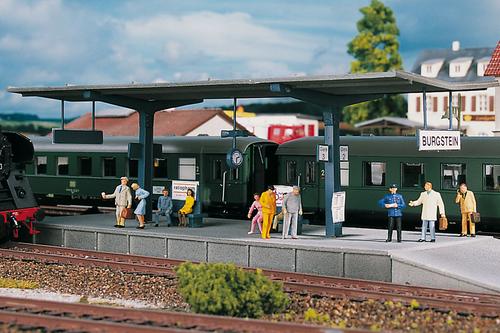 Piko Trains 61821 HO Scale Hobby Line Burgstein Platform Building Kit