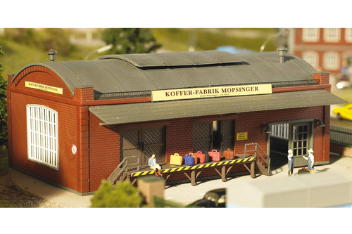 Piko Trains 61833 HO Scale Hobby Line Peter's Gig Bags & Cases Factory Building Kit