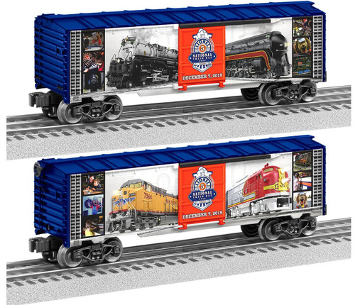 Lionel Trains 1938350 National Train Day Boxcar 2019 O Gauge Trains
