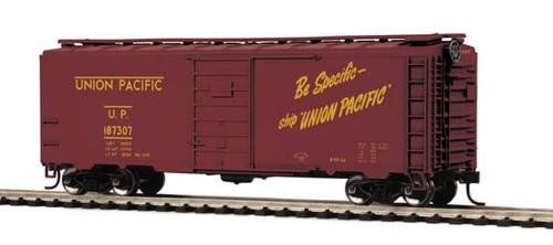 MTH Trains 81-74015 Union Pacific 40' PS-1 Box Car Road No 187307 HO Scale