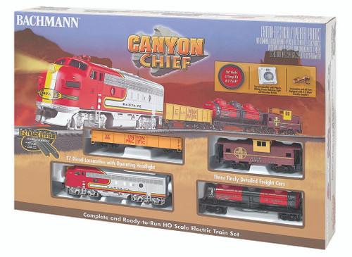 Bachmann Trains 00740 Canyon Chief HO Scale Ready To Run Train Set