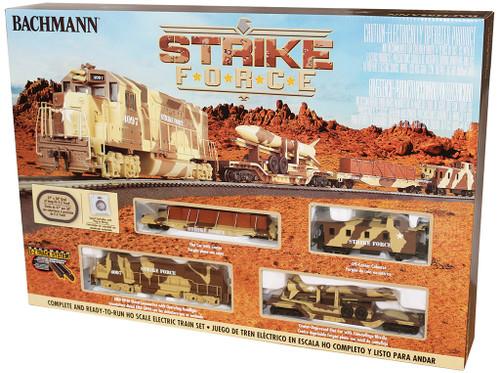 Bachmann 00752 Strike Force HO Scale Ready To Run Train Set
