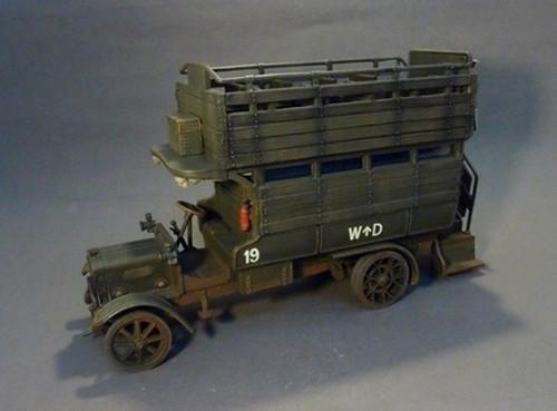 John Jenkins Toy Soldiers London Bus LGOC B-Type The Great War 1914-1918