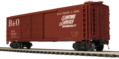 MTH Trains 20-93676 Baltimore And Ohio Double Door Box Car No 288333 O Scale