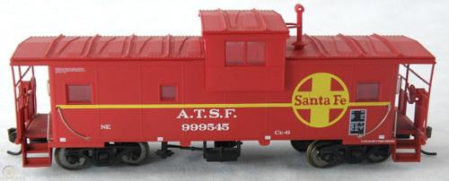 Atlas Trains 1906 ATSF Santa Fe Extended Vision Caboose Road No 999545 HO Scale