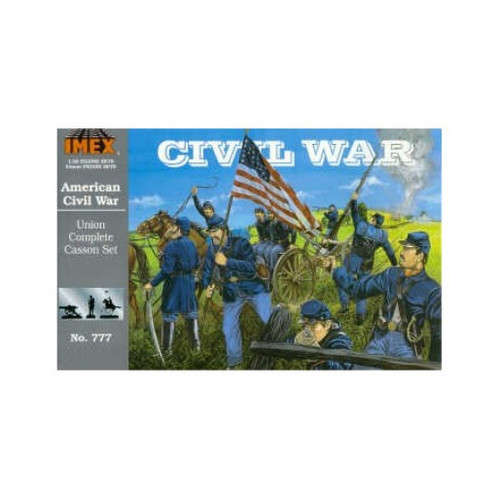 Imex 777 American Civil War Union Complete Casson Set 1/32 Scale Model Kit
