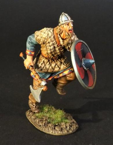 John Jenkins Designs VIK-20A The Age Of Arthur Viking Warrior Charging