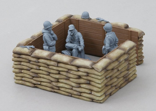 Thomas Gunn Miniatures ACCPACK056 WWII Large Sand Bag Emplacement