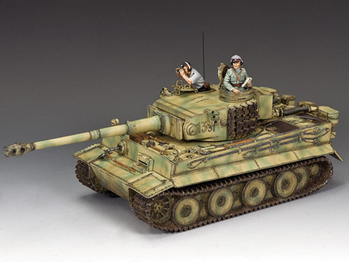 King & Country WS332 WWII Waffen SS Michael Wittmann's First Battlefield Tiger